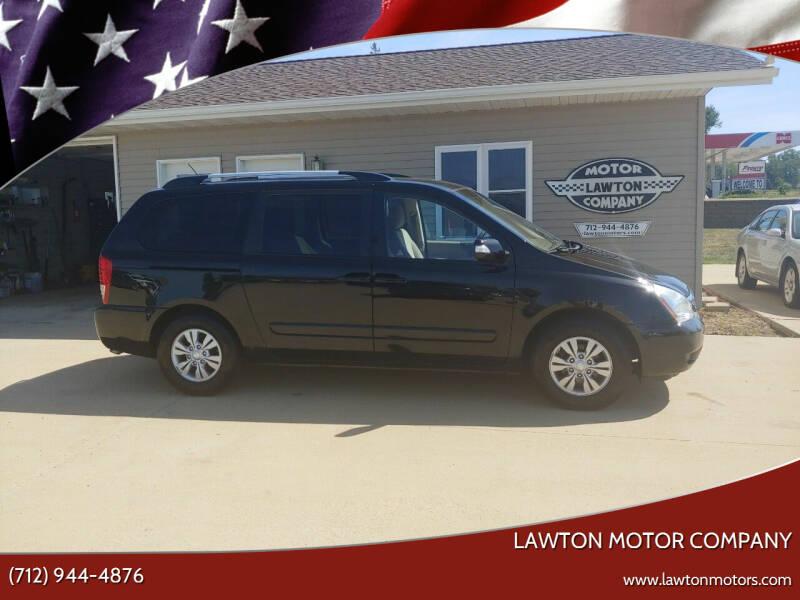 2012 Kia Sedona for sale at Lawton Motor Company in Lawton IA