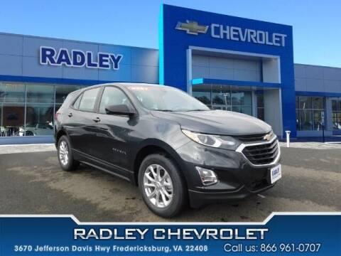 2021 Chevrolet Equinox for sale at Radley Cadillac in Fredericksburg VA