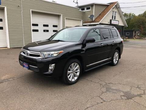 2011 Toyota Highlander Hybrid for sale at Prime Auto LLC in Bethany CT