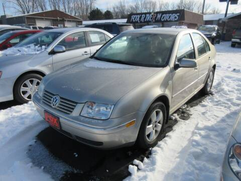 2005 Volkswagen Jetta for sale at Fox River Motors, Inc in Green Bay WI