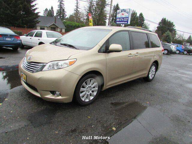 2011 Toyota Sienna for sale at Hall Motors LLC in Vancouver WA