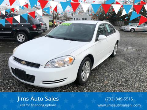 2011 Chevrolet Impala for sale at Jims Auto Sales in Lakehurst NJ