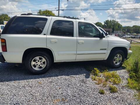 2001 Chevrolet Tahoe for sale at Magic Ride Auto Sales in Elizabethton TN