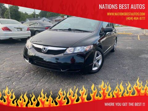 2010 Honda Civic for sale at Nations Best Autos in Decatur GA