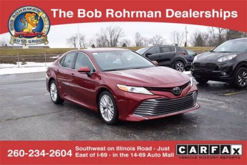 2020 Toyota Camry for sale at BOB ROHRMAN FORT WAYNE TOYOTA in Fort Wayne IN