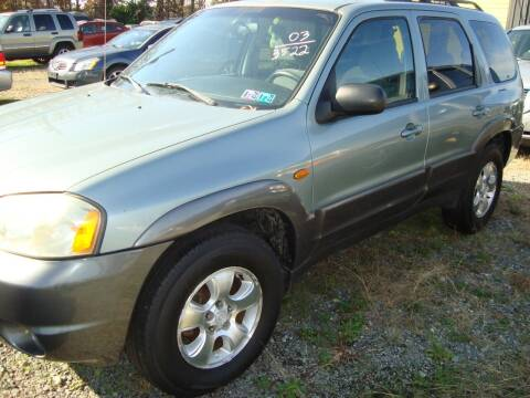 2003 Mazda Tribute for sale at Branch Avenue Auto Auction in Clinton MD