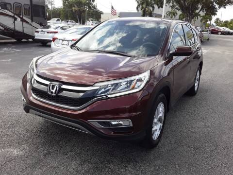 2016 Honda CR-V for sale at YOUR BEST DRIVE in Oakland Park FL