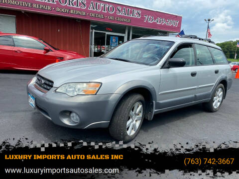 2007 Subaru Outback for sale at LUXURY IMPORTS AUTO SALES INC in North Branch MN