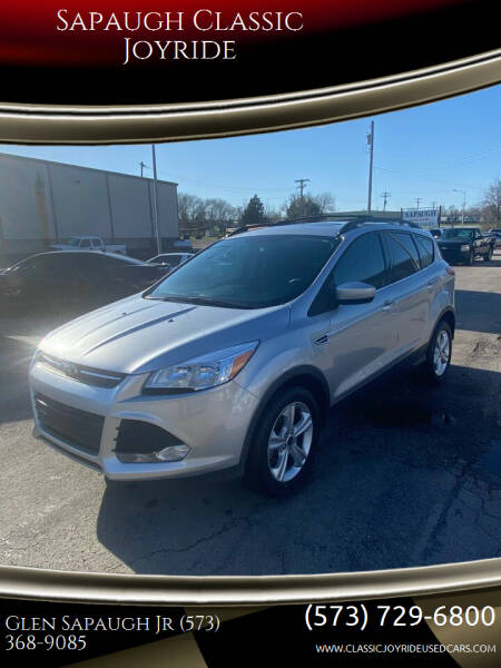 2015 Ford Escape for sale at Sapaugh Classic Joyride in Salem MO