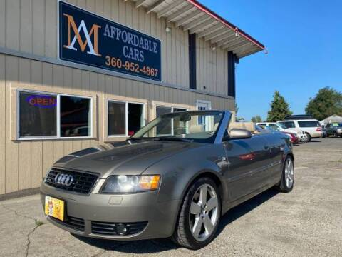 2006 Audi A4 for sale at M & A Affordable Cars in Vancouver WA