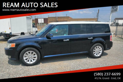 2009 Ford Flex for sale at REAM AUTO SALES in Enid OK