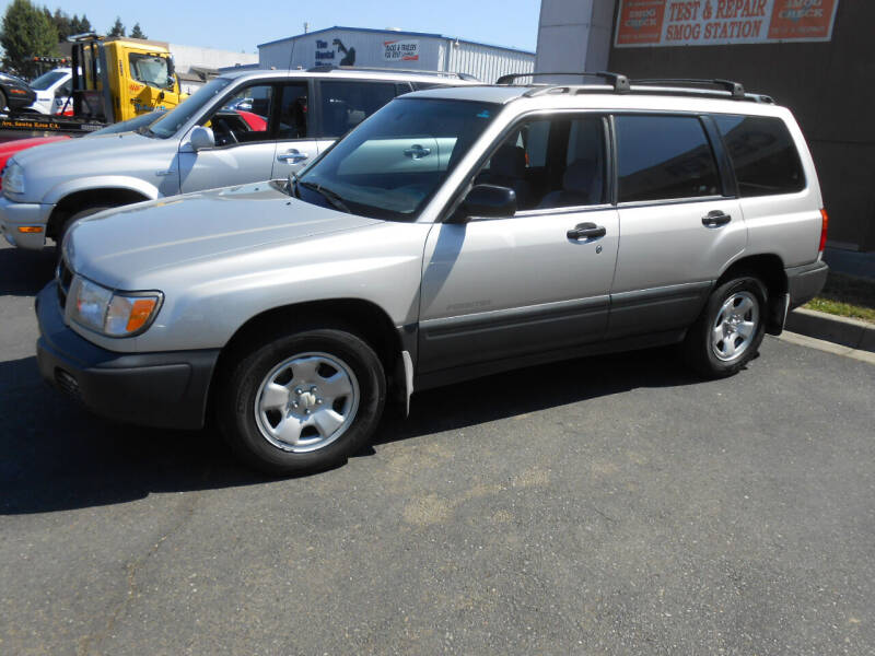 2000 Subaru Forester for sale at Sutherlands Auto Center in Rohnert Park CA
