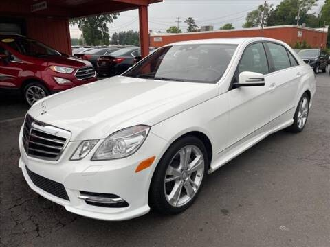 2013 Mercedes-Benz E-Class for sale at HUFF AUTO GROUP in Jackson MI