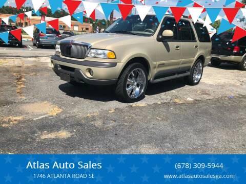 1998 Lincoln Navigator for sale at Atlas Auto Sales in Smyrna GA