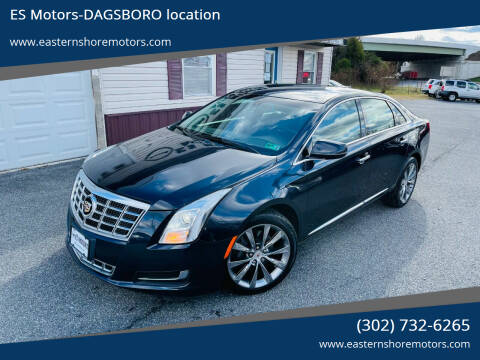 2013 Cadillac XTS for sale at ES Motors-DAGSBORO location in Dagsboro DE