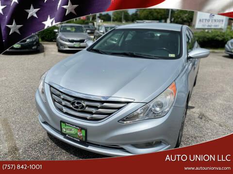 2011 Hyundai Sonata for sale at Auto Union LLC in Virginia Beach VA