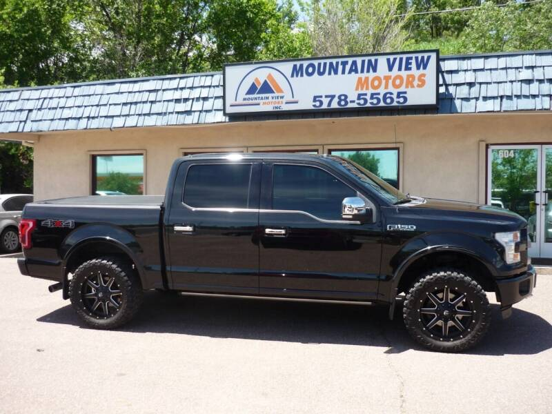 2015 Ford F-150 for sale at Mountain View Motors Inc in Colorado Springs CO