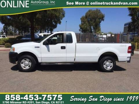 2008 Ford F-150 for sale at Online Auto Group Inc in San Diego CA