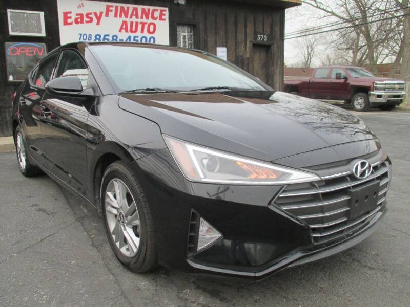 2020 Hyundai Elantra for sale at EZ Finance Auto in Calumet City IL