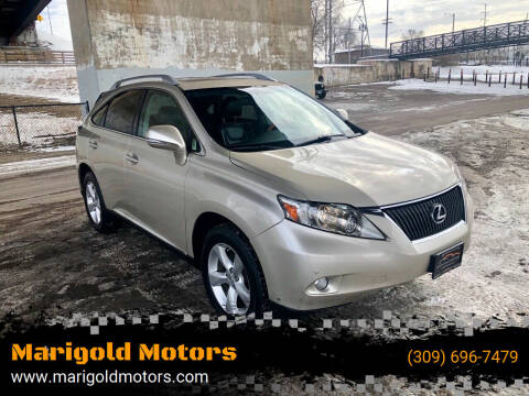 2011 Lexus RX 350 for sale at Marigold Motors, LLC in Pekin IL