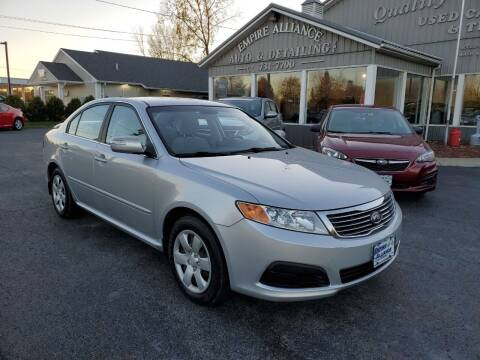 2010 Kia Optima for sale at Empire Alliance Inc. in West Coxsackie NY