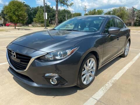 2015 Mazda MAZDA3 for sale at Safe Trip Auto Sales in Dallas TX