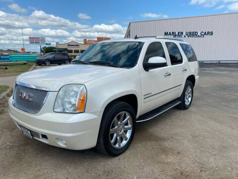 2010 GMC Yukon for sale at MARLER USED CARS in Gainesville TX