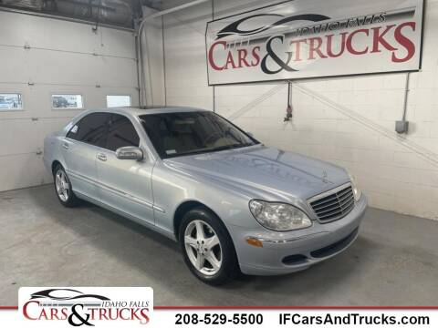 2004 Mercedes-Benz S-Class for sale at Idaho Falls Cars and Trucks in Idaho Falls ID