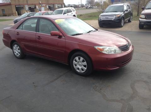 2003 Toyota Camry for sale at Bruns & Sons Auto in Plover WI