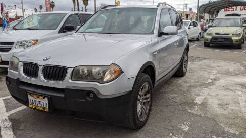 2005 BMW X3 for sale at Best Deal Auto Sales in Stockton CA