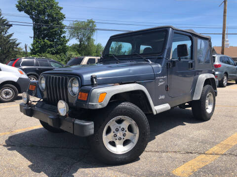 2001 Jeep Wrangler for sale at J's Auto Exchange in Derry NH