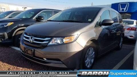 2017 Honda Odyssey for sale at Baron Super Center in Patchogue NY