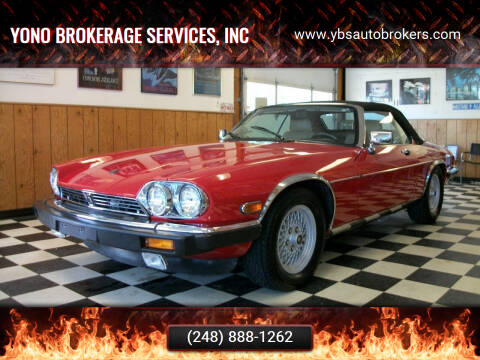 1989 Jaguar XJ-Series for sale at Yono Brokerage Services, INC in Farmington MI