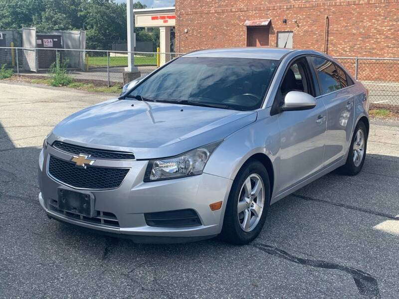 2014 Chevrolet Cruze for sale at Ludlow Auto Sales in Ludlow MA
