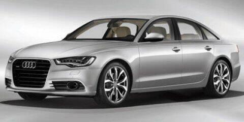 2012 Audi A6 for sale at DAVID McDAVID HONDA OF IRVING in Irving TX