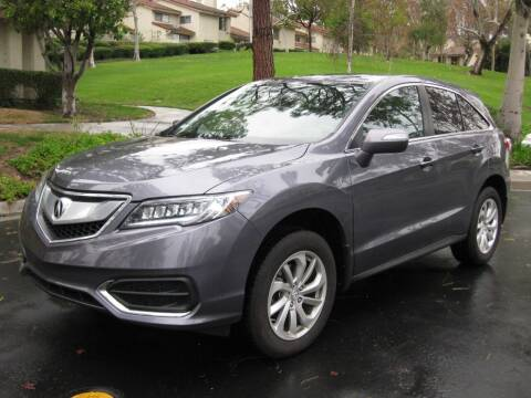 2017 Acura RDX for sale at E MOTORCARS in Fullerton CA