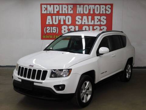 2014 Jeep Compass for sale at EMPIRE MOTORS AUTO SALES in Philadelphia PA