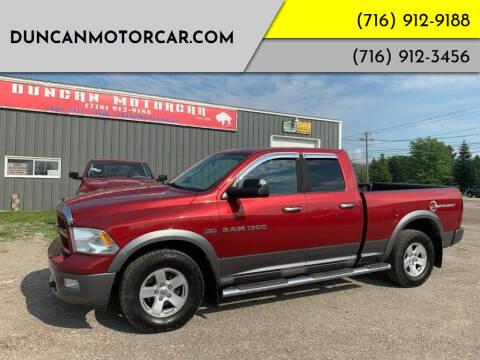 2011 RAM Ram Pickup 1500 for sale at DuncanMotorcar.com in Buffalo NY