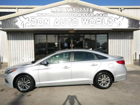 2017 Hyundai Sonata for sale at Don Auto World in Houston TX