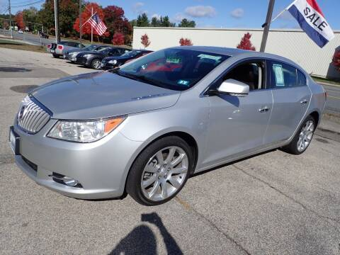 2010 Buick LaCrosse for sale at S & J Motor Co Inc. in Merrimack NH