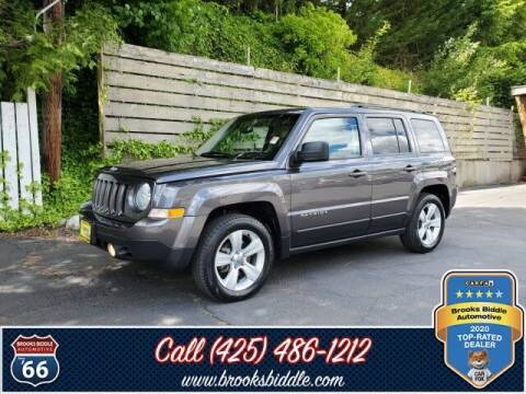 2016 Jeep Patriot for sale at BROOKS BIDDLE AUTOMOTIVE in Bothell WA