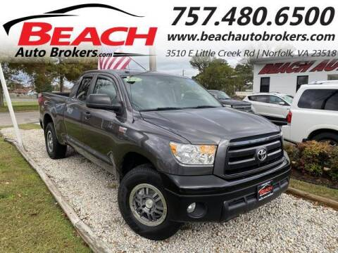 2012 Toyota Tundra for sale at Beach Auto Brokers in Norfolk VA