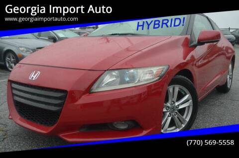 2011 Honda CR-Z for sale at Georgia Import Auto in Alpharetta GA