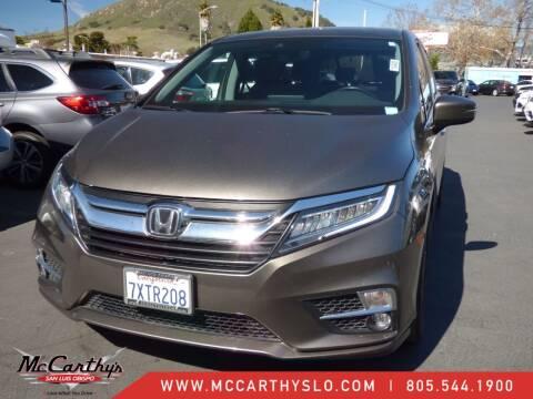2018 Honda Odyssey for sale at McCarthy Wholesale in San Luis Obispo CA