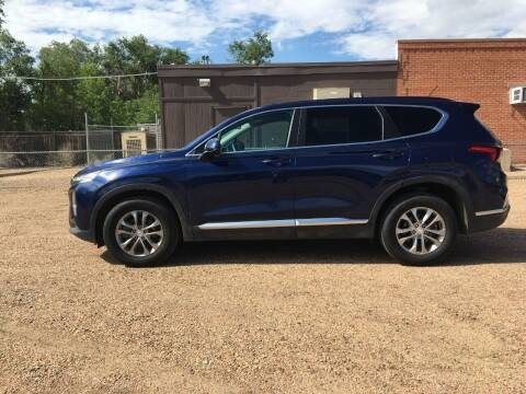 2019 Hyundai Santa Fe for sale at Chubbuck Motor Co in Ordway CO