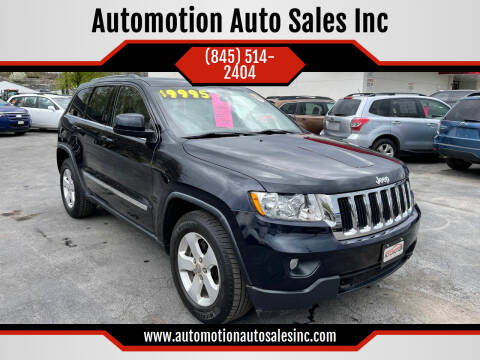 2011 Jeep Grand Cherokee for sale at Automotion Auto Sales Inc in Kingston NY