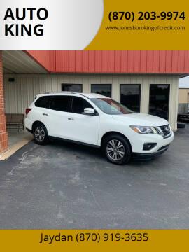 2018 Nissan Pathfinder for sale at AUTO KING in Jonesboro AR