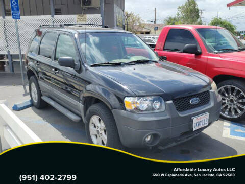 2006 Ford Escape for sale at Affordable Luxury Autos LLC in San Jacinto CA