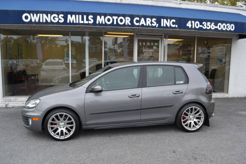 2010 Volkswagen GTI for sale at Owings Mills Motor Cars in Owings Mills MD