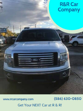 2012 Ford F-150 for sale at R&R Car Company in Mount Clemens MI